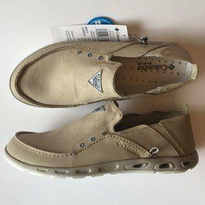 Columbia PFG Bahama Vent Slip-on Shoes/Canvas,10.5